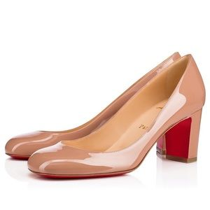 NEW Christian Louboutin Cadrilla Red Sole Pump